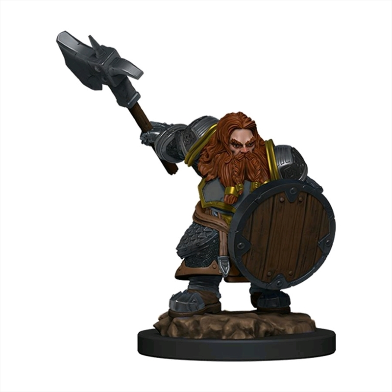 Dungeons & Dragons - Icons of the Realms Premium Dwarf Fighter Male | Games