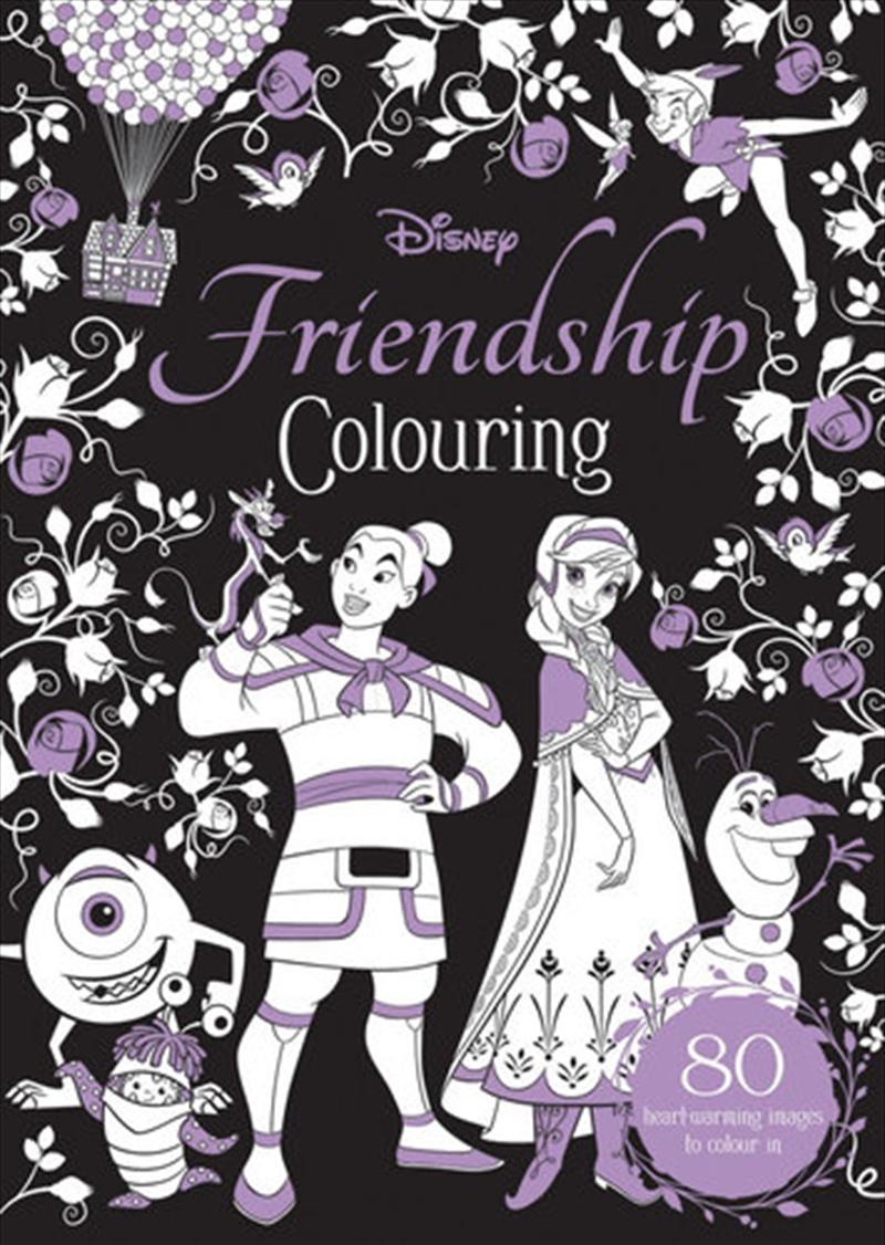 Disney Friendship Colouring | Colouring Book