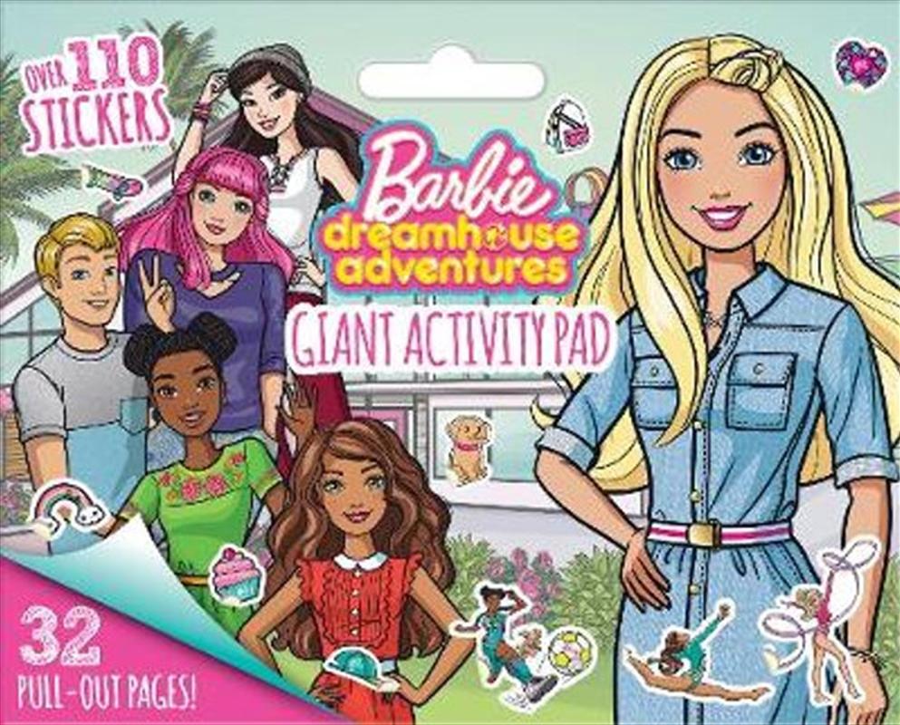 Barbie Dreamhouse Adventures: Giant Activity Pad (mattel) | Colouring Book
