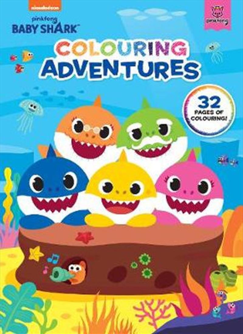 Baby Shark: Colouring Adventures | Colouring Book