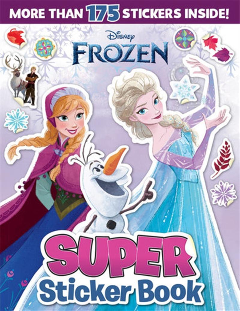 Frozen Classic: Super Sticker Book (disney)   Colouring Book