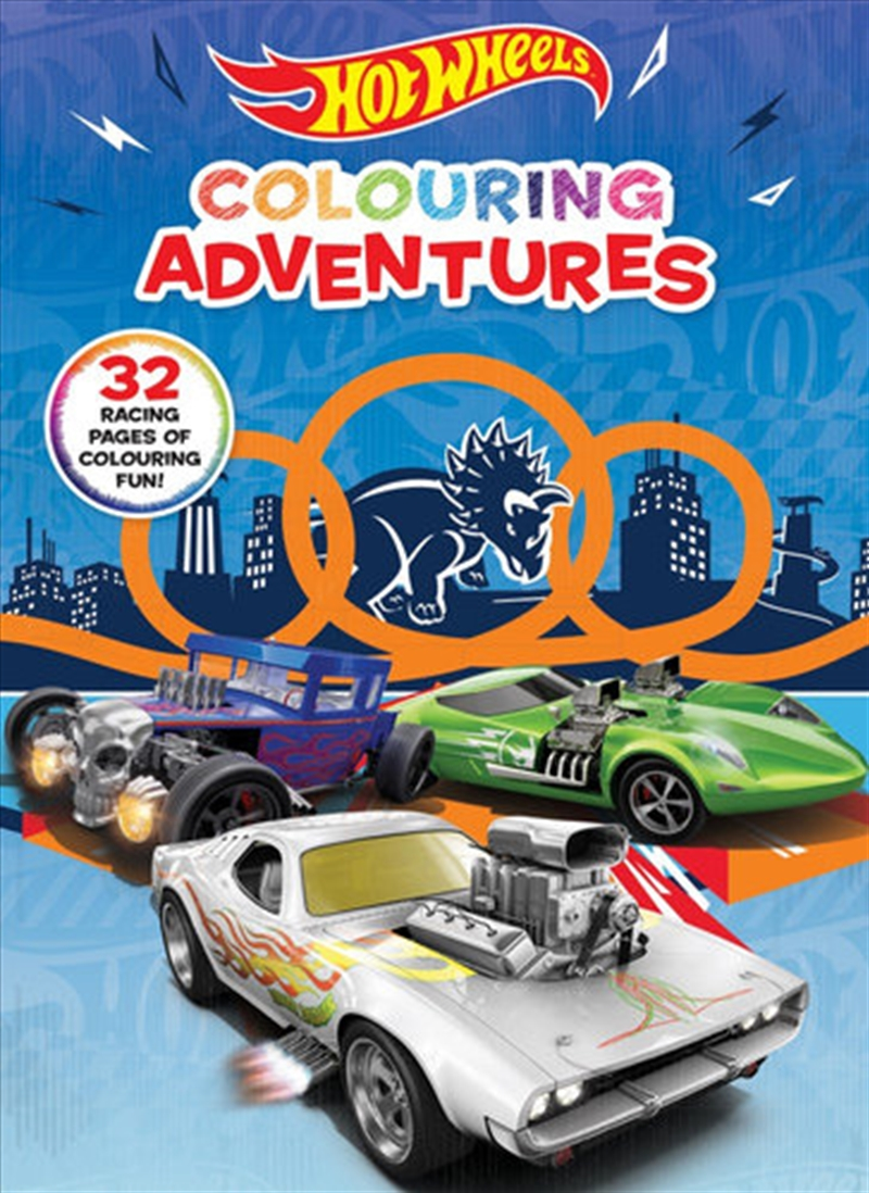 Hot Wheels: Colouring Adventures (mattel) | Colouring Book