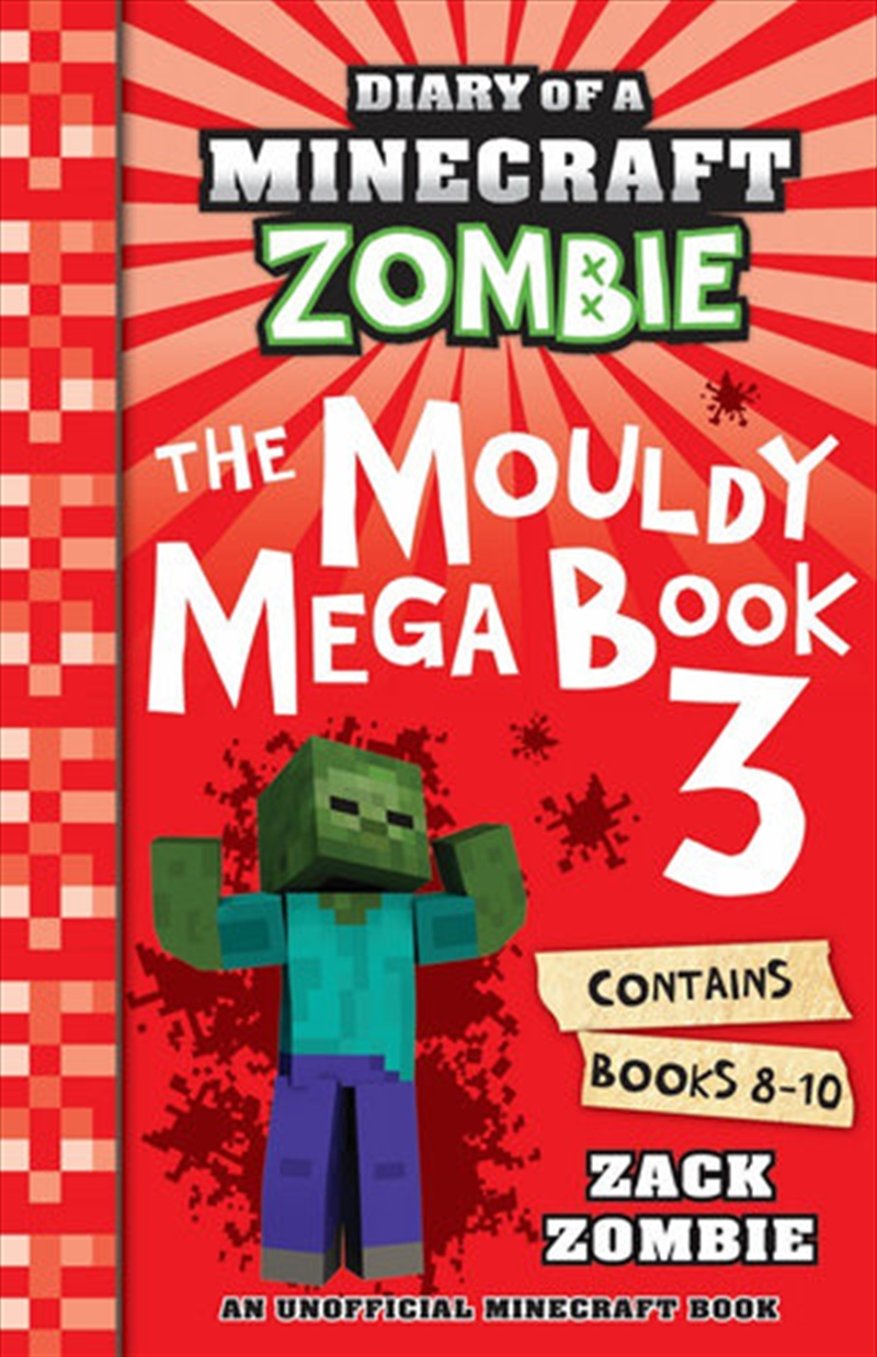 Diary Of A Minecraft Zombie: The Mouldy Mega Book 3 | Paperback Book