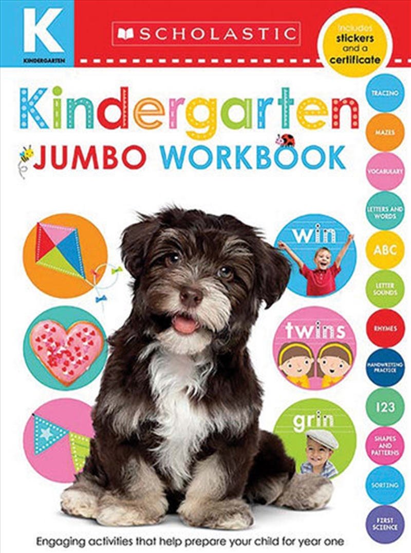 Kindergarten Jumbo Workbook | Paperback Book