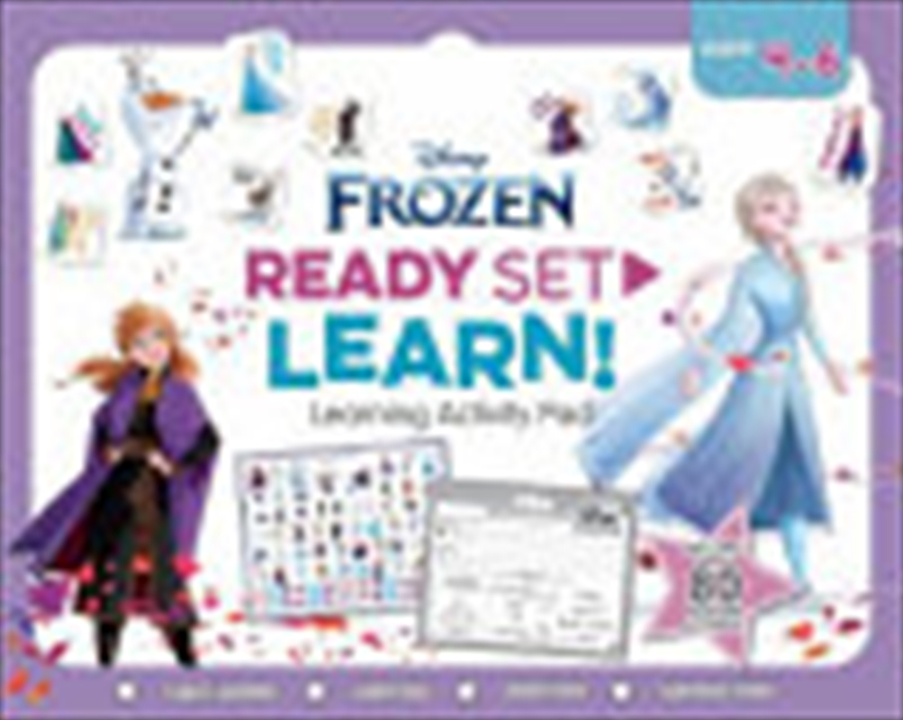 Frozen: Ready Set Learn! Learning Activity Pad (disney) | Paperback Book