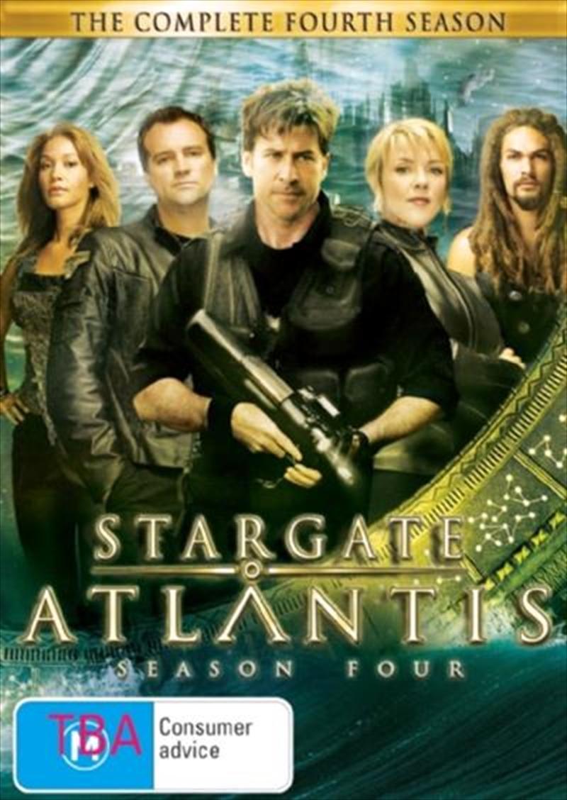 Stargate Atlantis - Season 4 | Slimpack | DVD