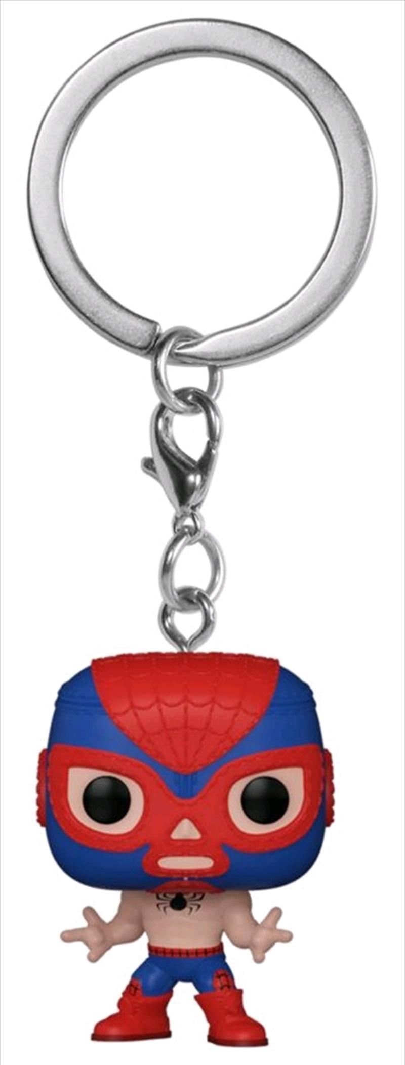 Spider-Man - Luchadore Spider-Man Pocket Pop! Keychain | Pop Vinyl