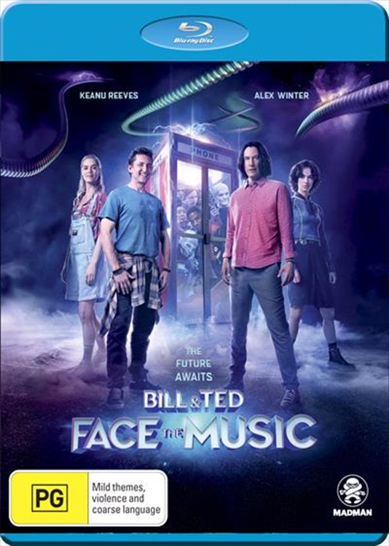 Bill and Ted Face The Music | Blu-ray
