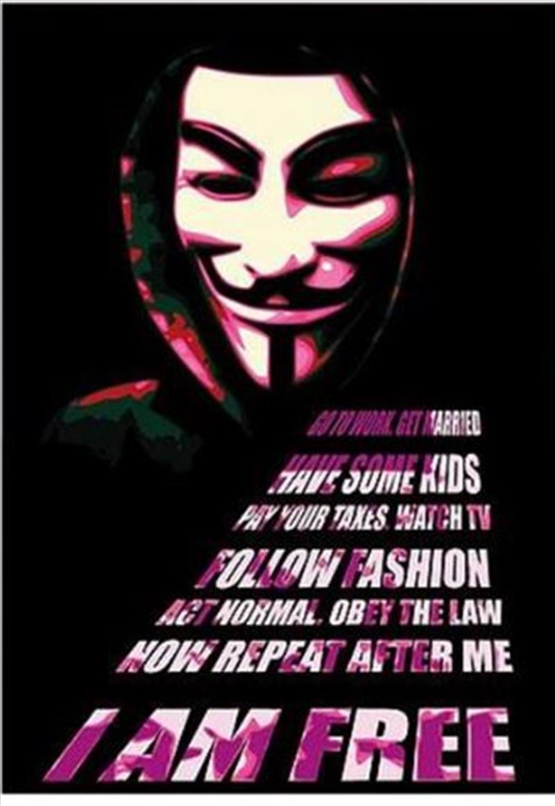 Anonymous - I am Free | Merchandise