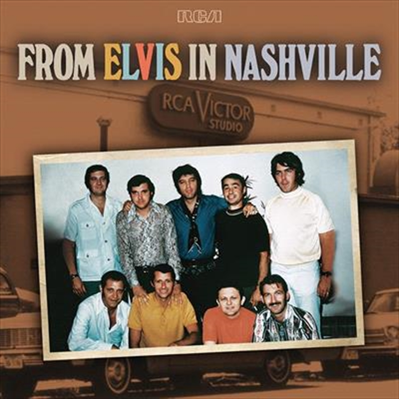 From Elvis In Nashville | Vinyl