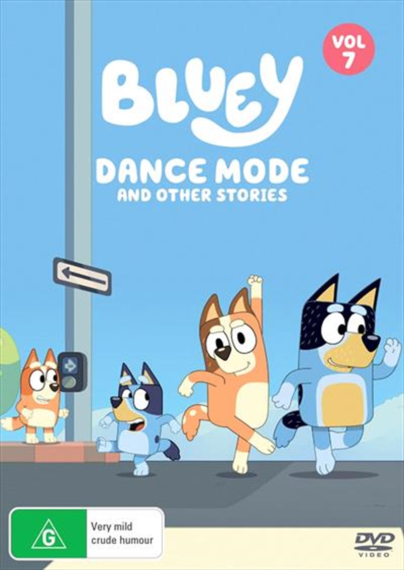 Bluey - Dance Mode and Other Stories - Vol 7 | DVD