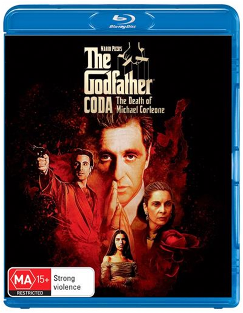 Godfather - Coda - Part III - The Death of Michael Corleone, The | Blu-ray