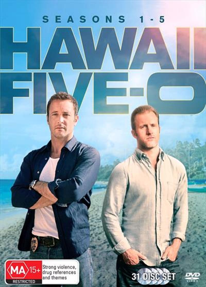 Hawaii Five-O - Season 1-5   DVD