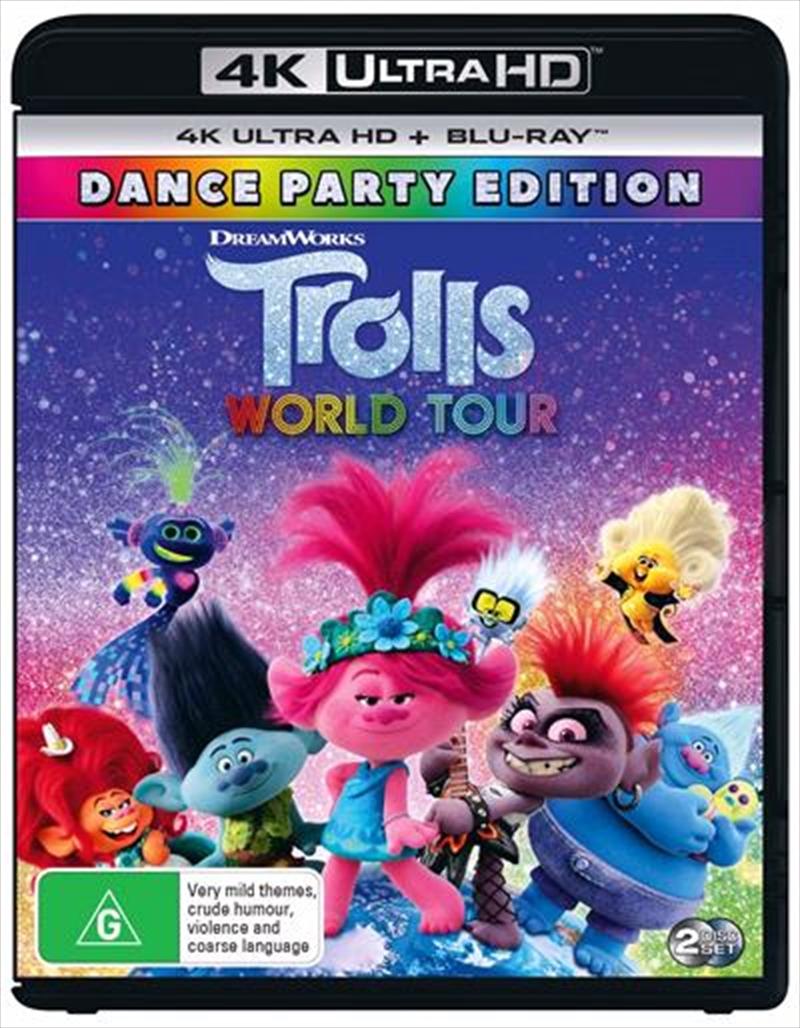 Trolls World Tour | Blu-ray + UHD | UHD