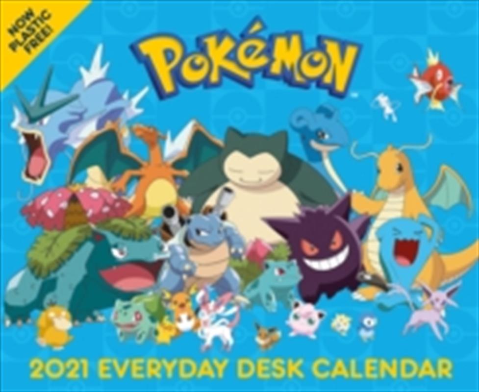 Pokemon Desk Calendar 2021 | Merchandise