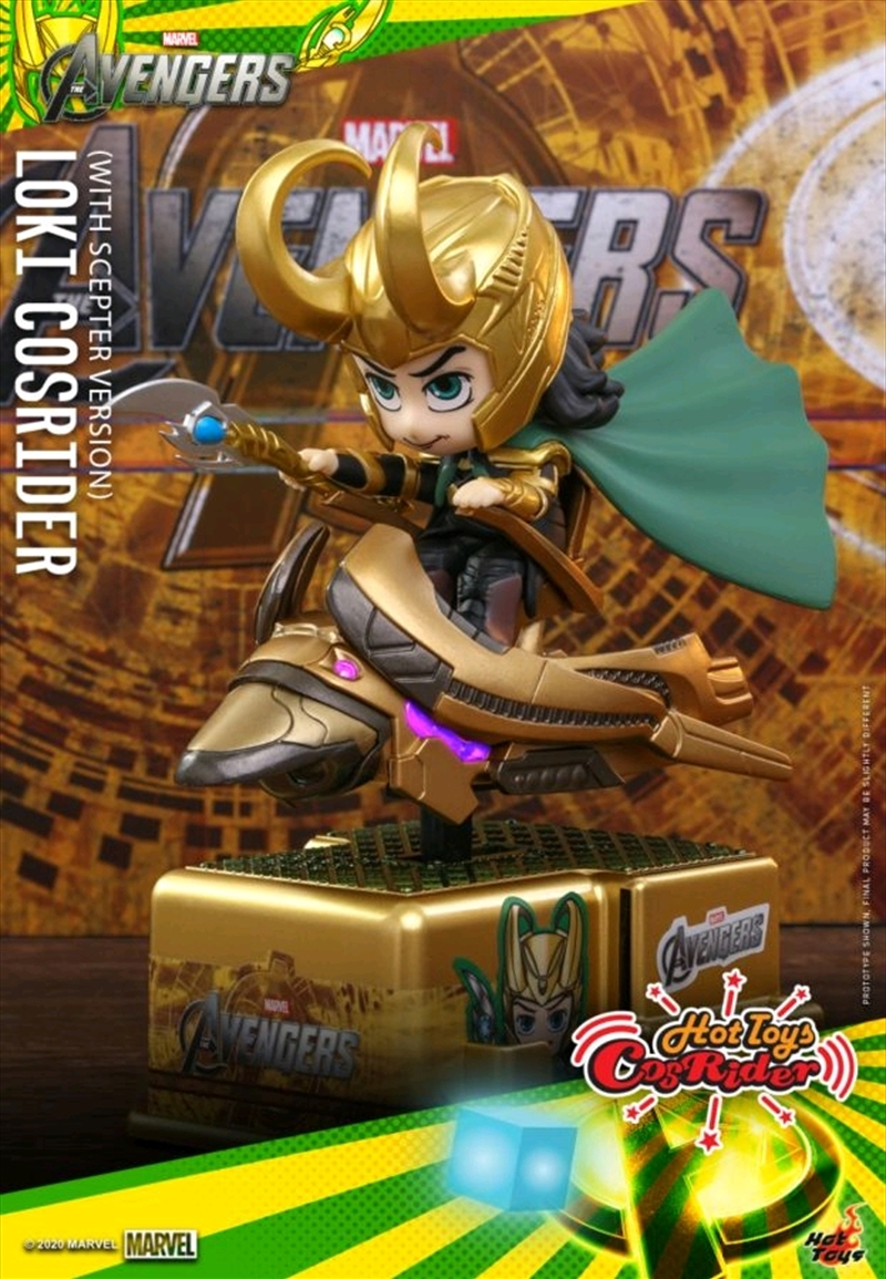 Thor - Loki with Scepter Cosrider | Merchandise