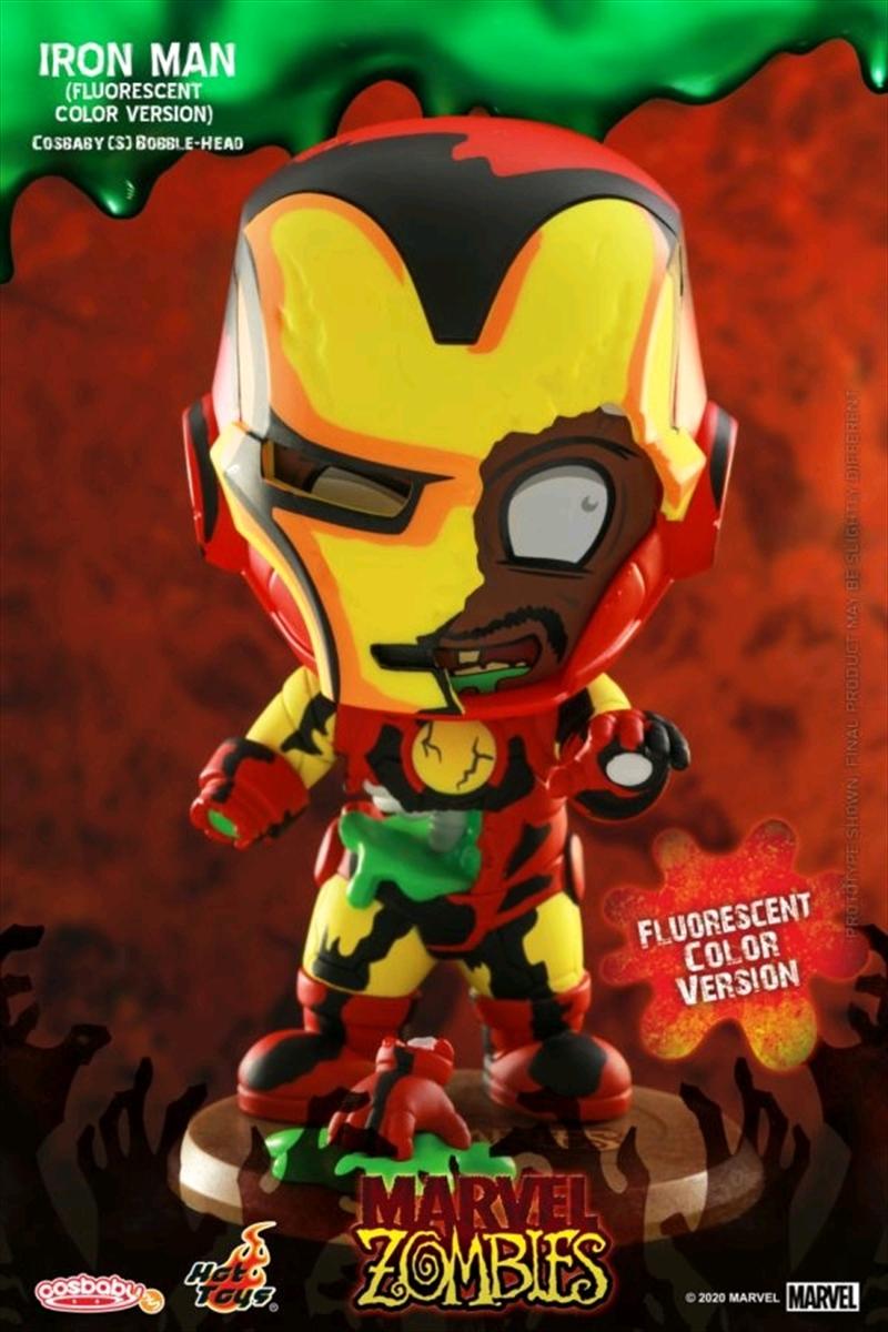 Marvel Zombies - Iron Man Fluorescent Cosbaby | Merchandise