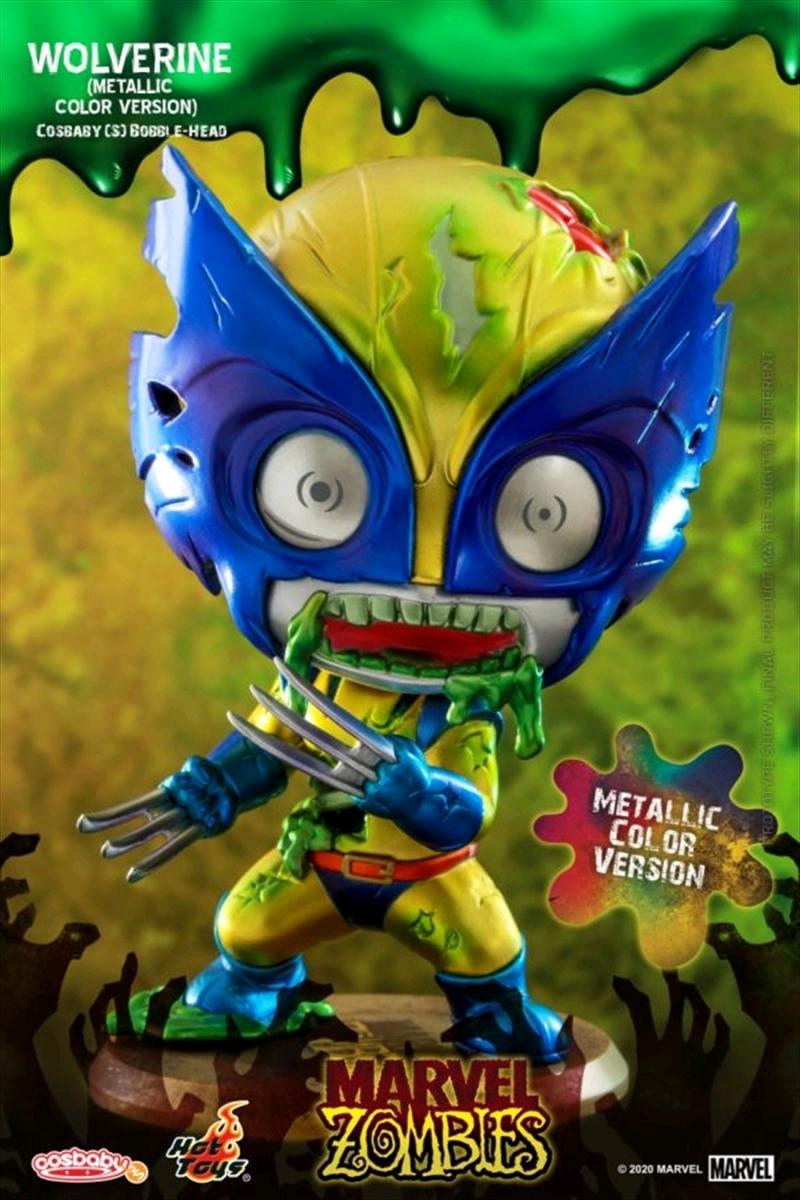 Marvel Zombies - Wolverine Metallic Cosbaby   Merchandise