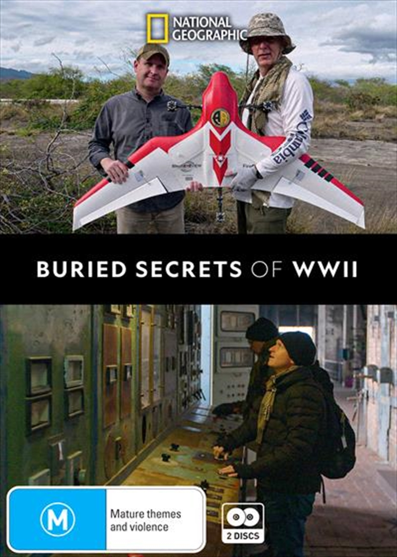 Buried Secrets Of WWII | DVD