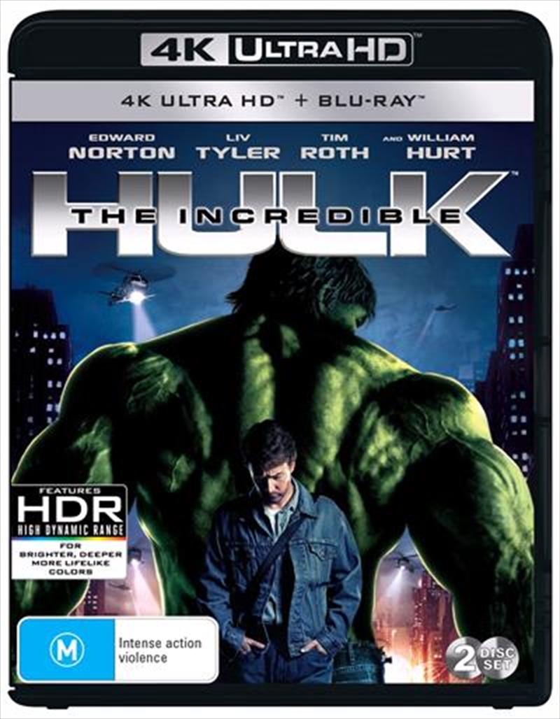Incredible Hulk   Blu-ray + UHD, The   UHD