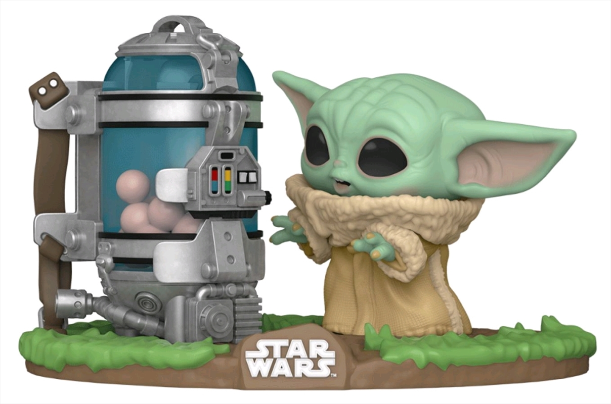 Star Wars: The Mandalorian - Child with Egg Canister Pop! Deluxe | Pop Vinyl