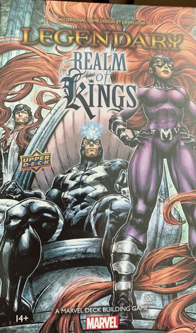 Marvel Legendary - Realm of Kings Deck-Building-Game Expansion | Merchandise