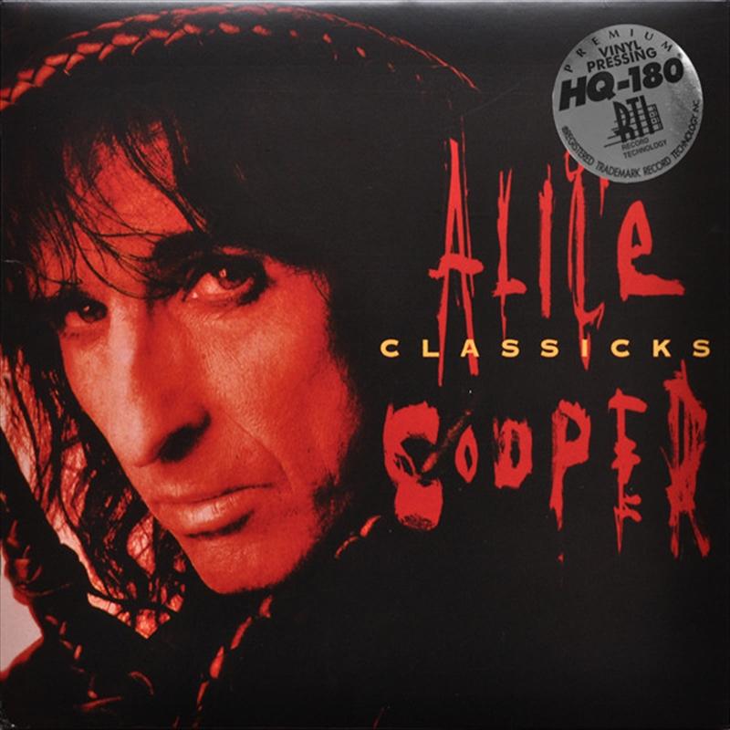 Classicks - The Best Of Alice Cooper   Vinyl