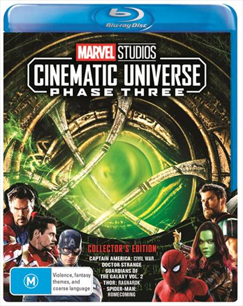 Marvel - Phase 3 - Part 1 | Blu-ray