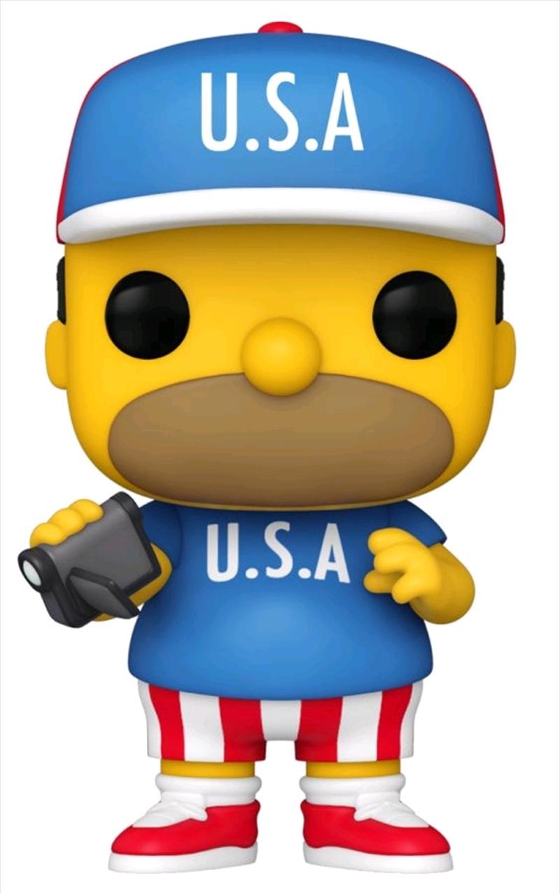 Simpsons - Homer U.S.A. Pop! Vinyl   Pop Vinyl
