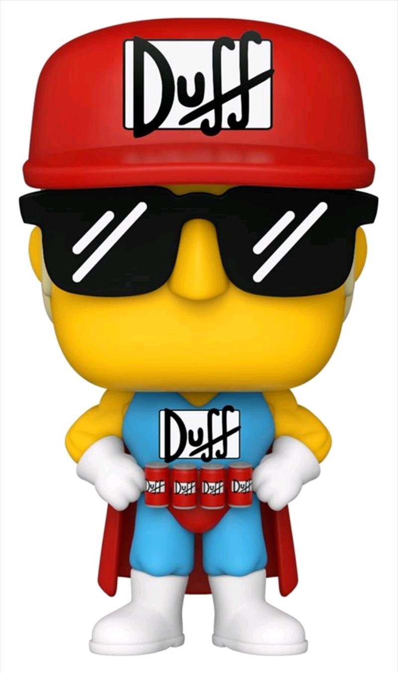 The Simpsons - Duffman Pop! Vinyl | Pop Vinyl