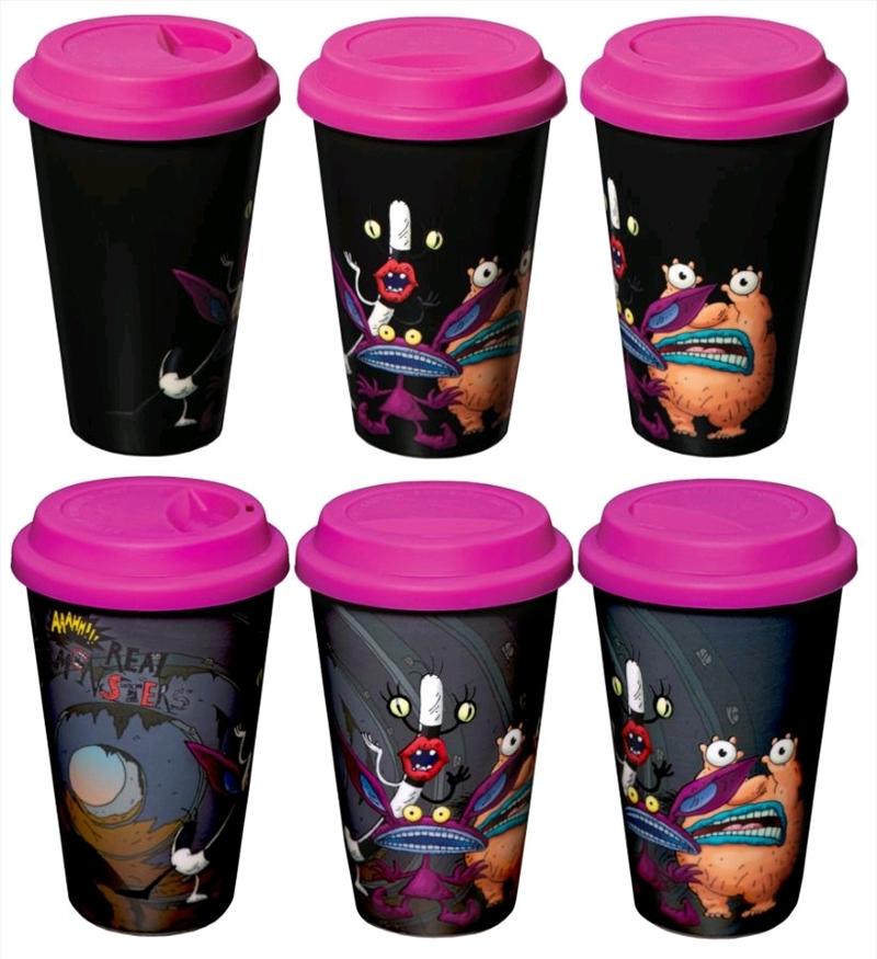 Aaahh!!! Real Monsters - Heat Change Travel Mug | Merchandise