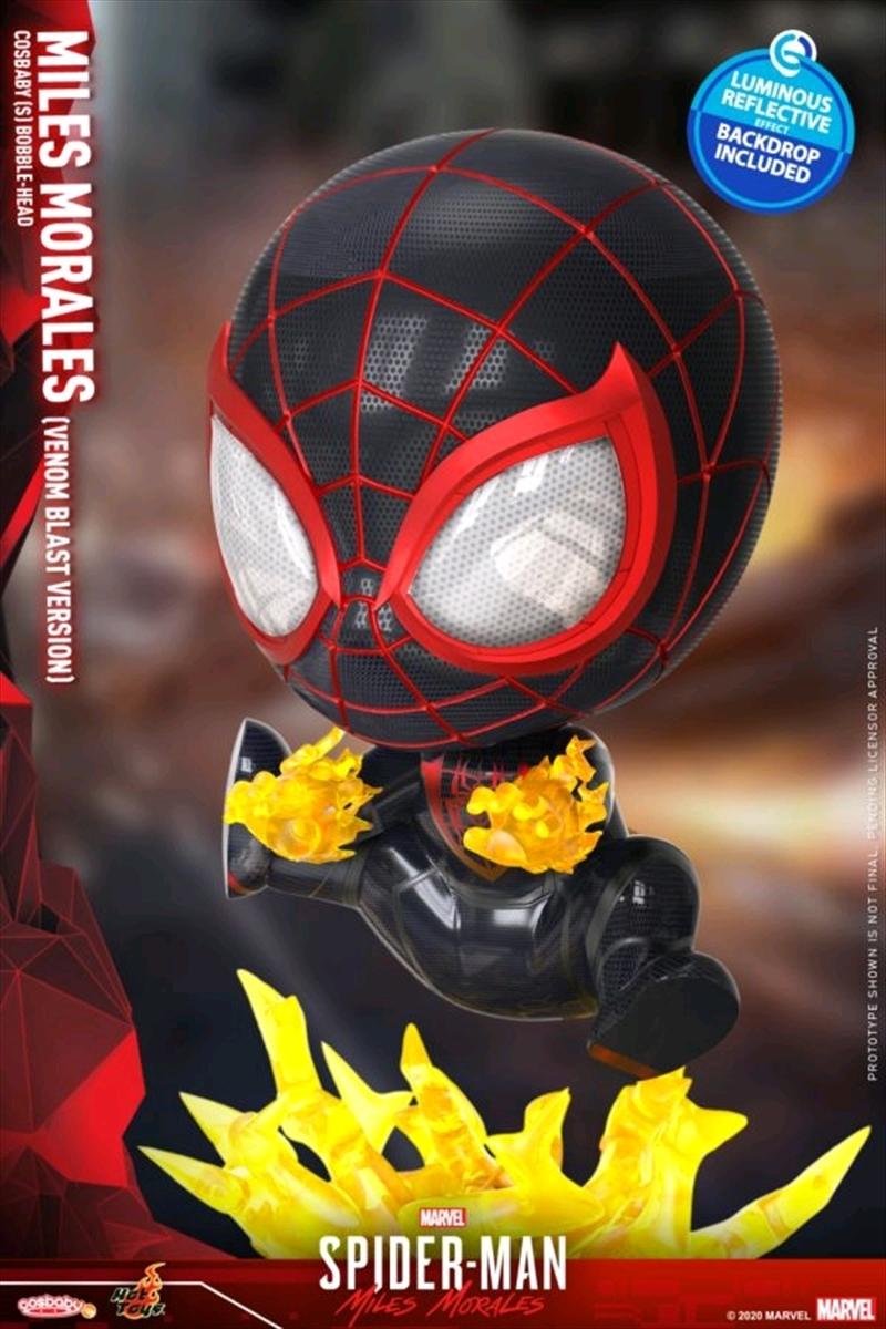 Spider-Man: Miles Morales - Miles Morales Venom Blast Cosbaby | Merchandise