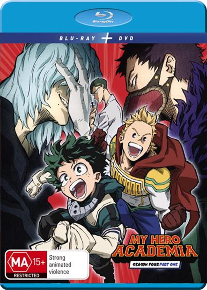 My Hero Academia - Season 4 - Part 1   Blu-ray + DVD   Blu-ray