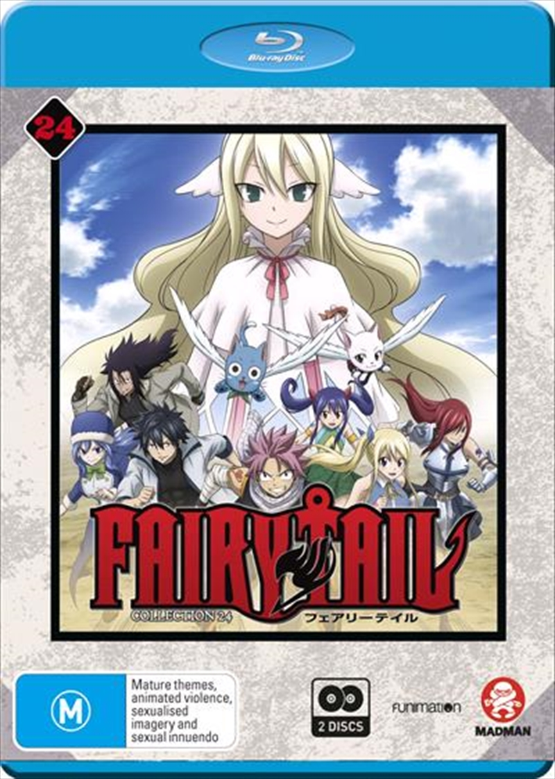 Fairy Tail - Collection 24 - Eps 291-303 | Blu-ray