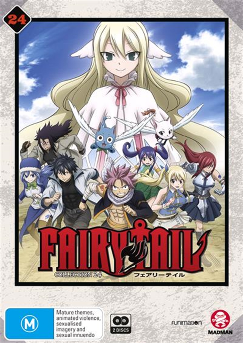 Fairy Tail - Collection 24 - Eps 291-303 | DVD