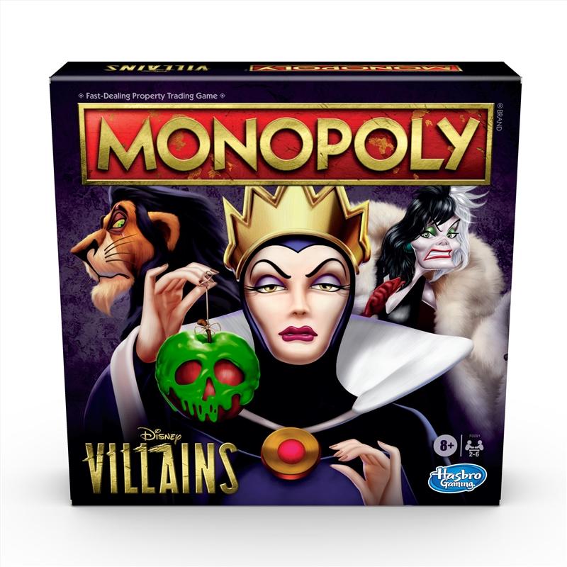 Monopoly - Disney Villian's | Merchandise