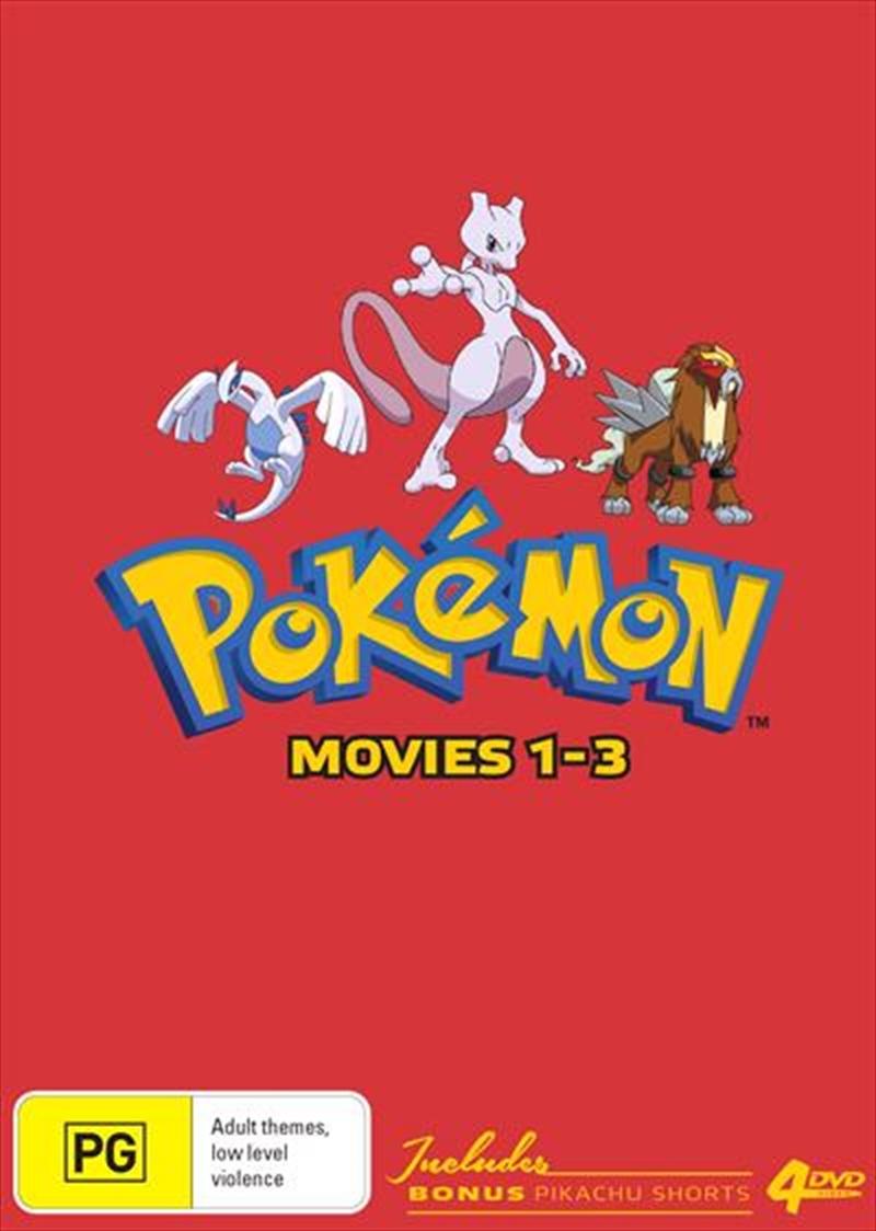 Pokemon - Movie 1-3   Collector's Edition   DVD