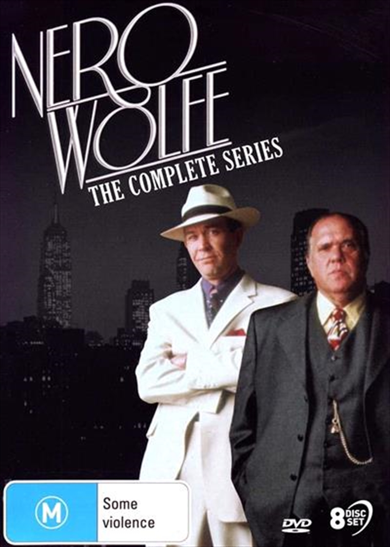 Nero Wolfe | Complete Series | DVD
