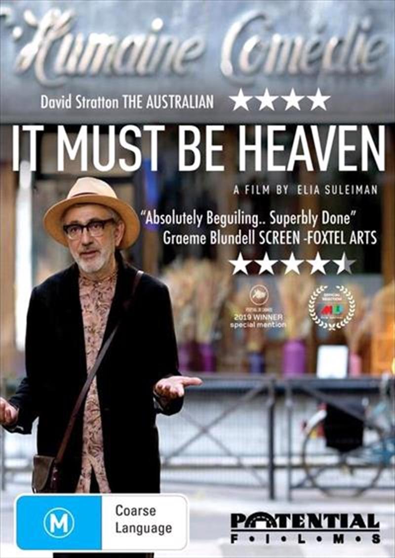 It Must Be Heaven | DVD