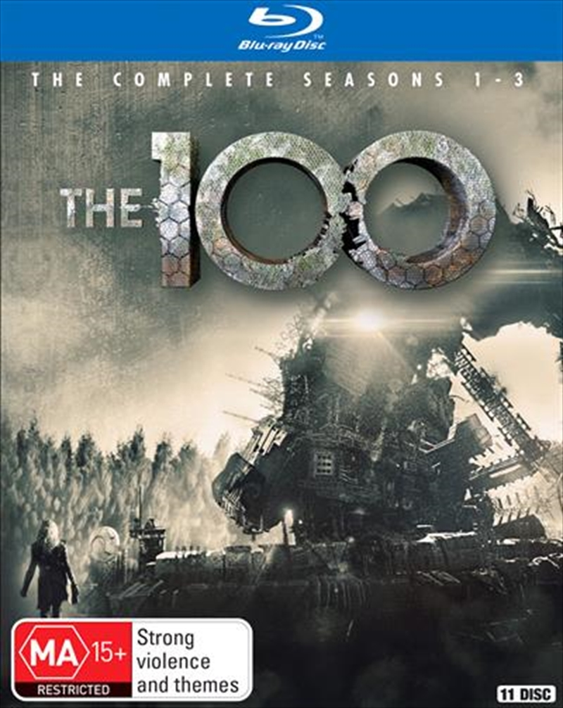 100 - Season 1-3 | Boxset, The | Blu-ray