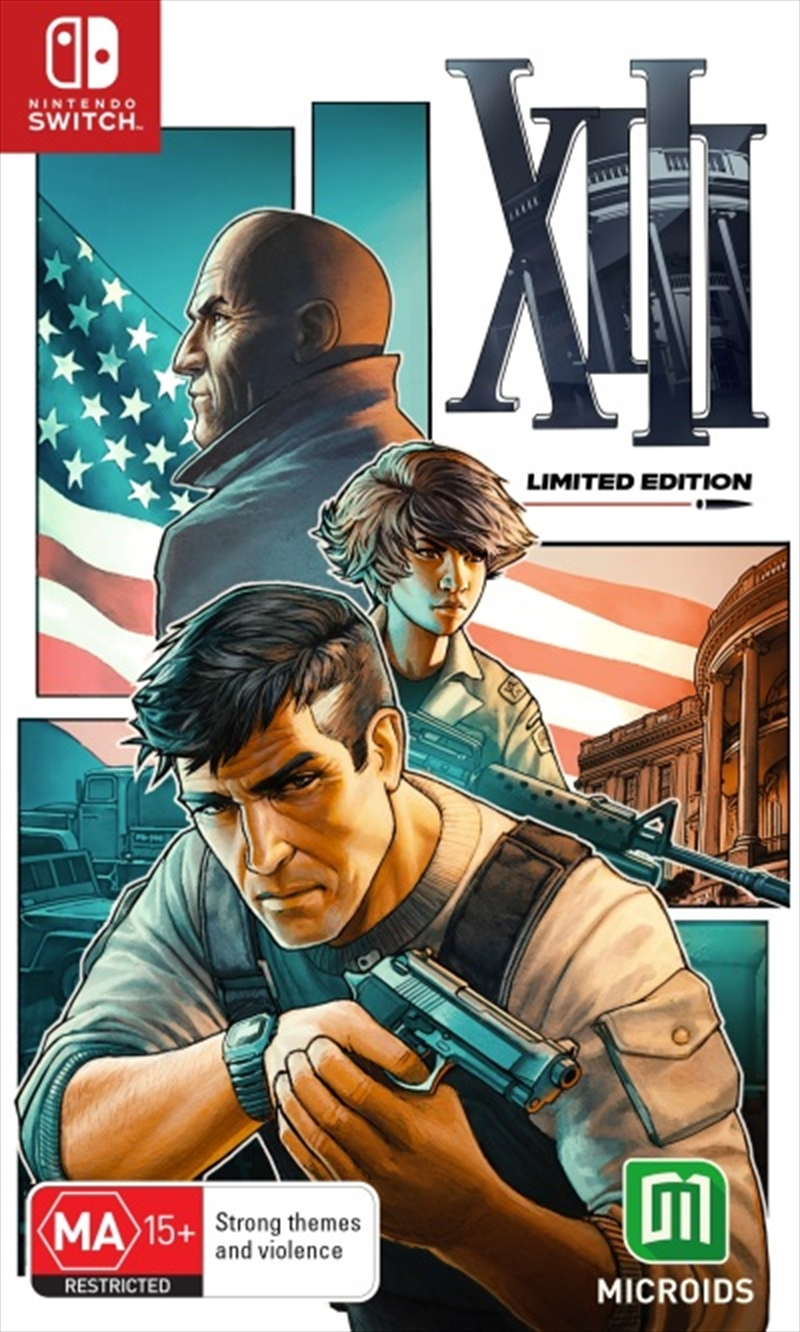 XIII Remastered Limited Edition   Nintendo Switch