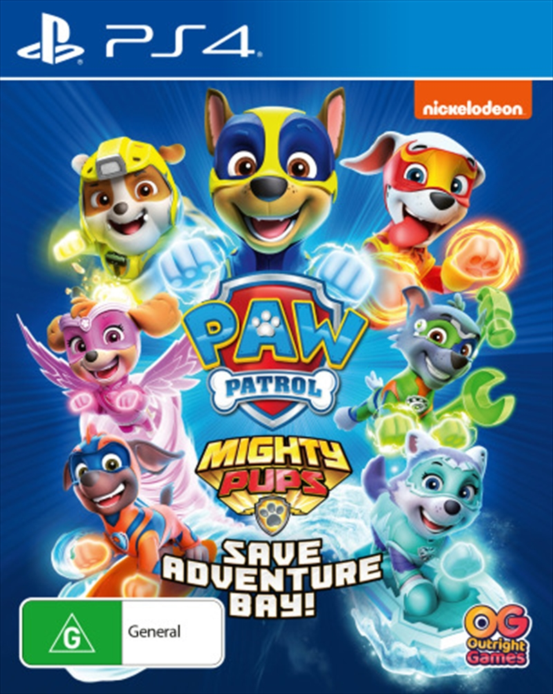Paw Patrol Mighty Pups | PlayStation 4