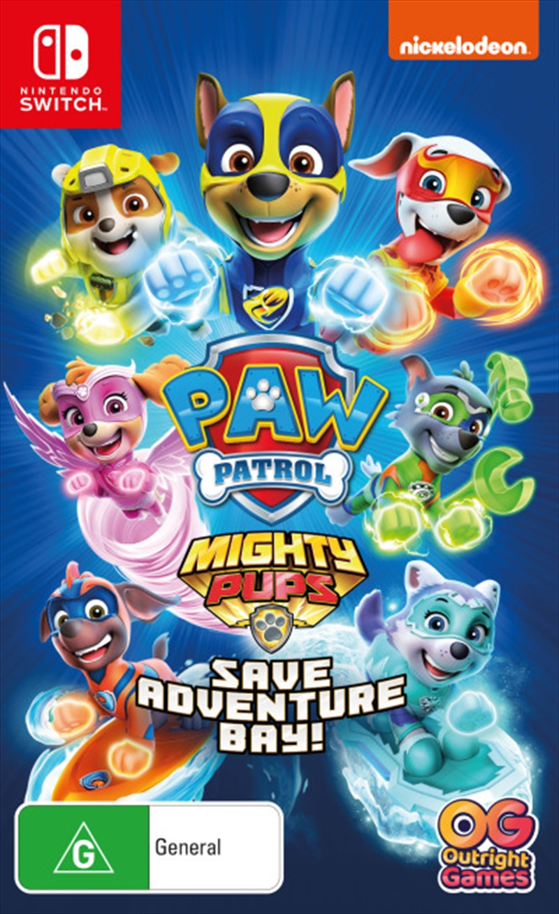 Paw Patrol Mighty Pups | Nintendo Switch