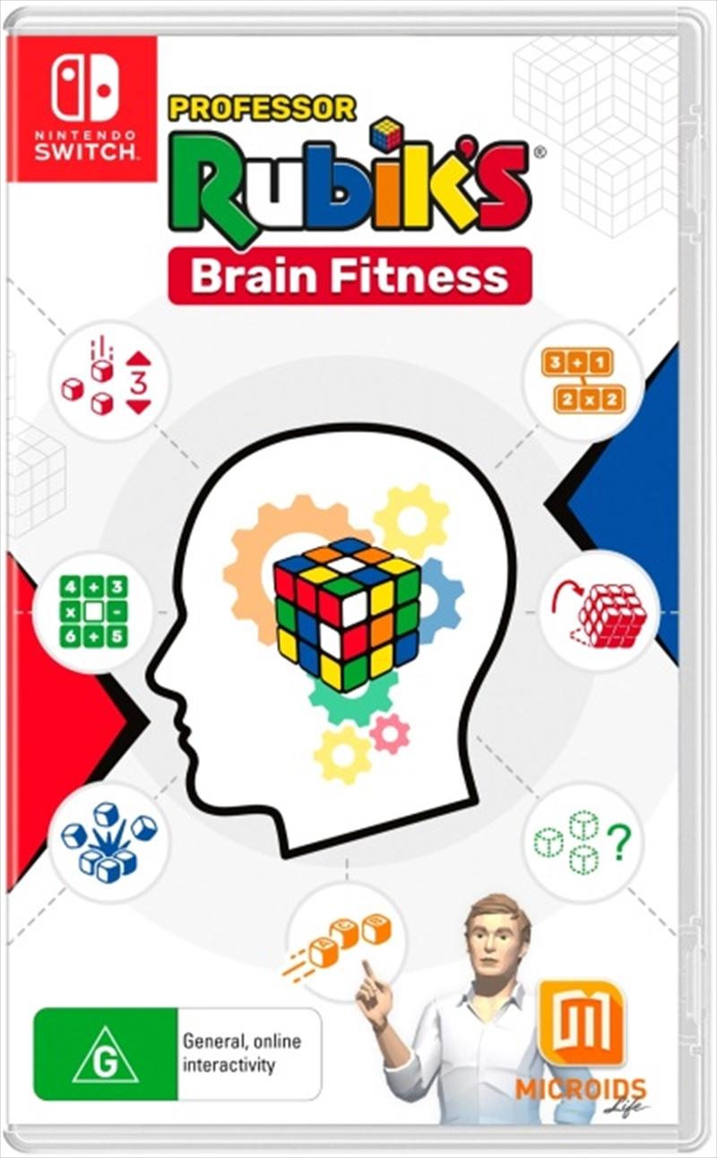 Professor Rubicks Brain Fitness   Nintendo Switch