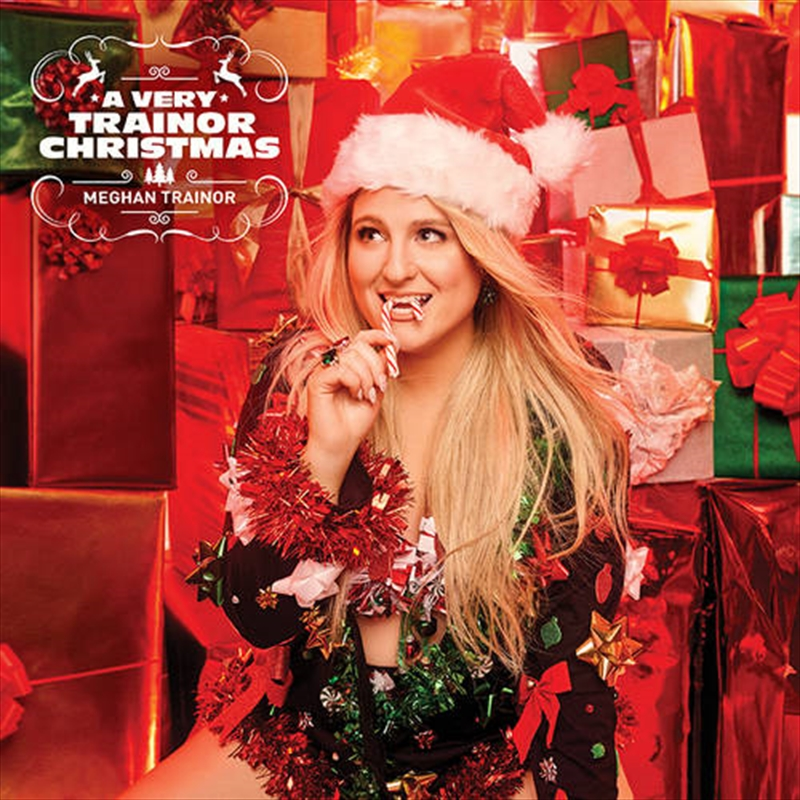 A Very Trainor Christmas - Limited Translucent Green And Red Coloured Vinyl   Vinyl