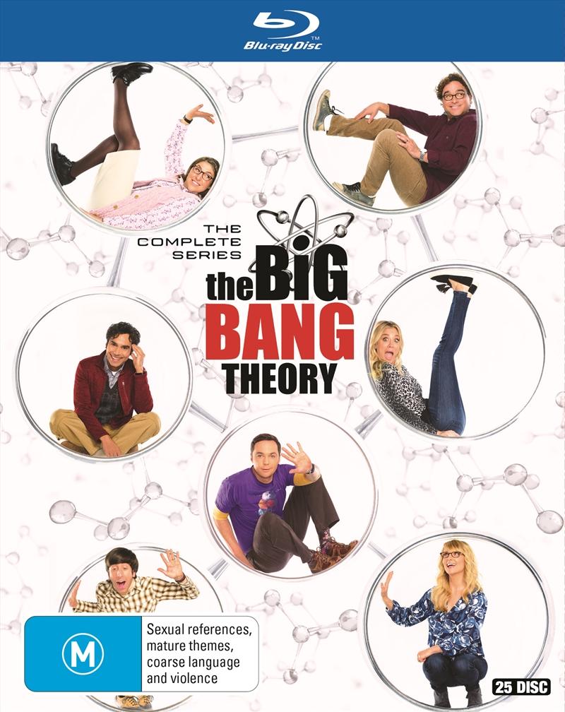 Big Bang Theory - Season 1-12   Blu-ray