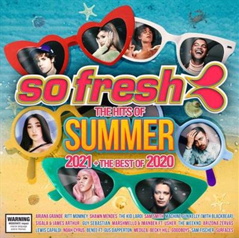 So Fresh -  Hits Of Summer 2021 / Best Of 2020   CD