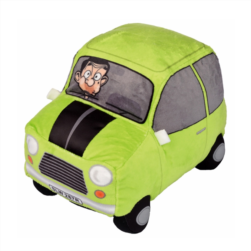 Mr Bean Plush Car Plays Theme | Toy