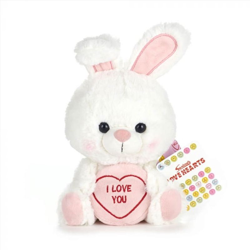 Bunny I Love You Plush   Toy