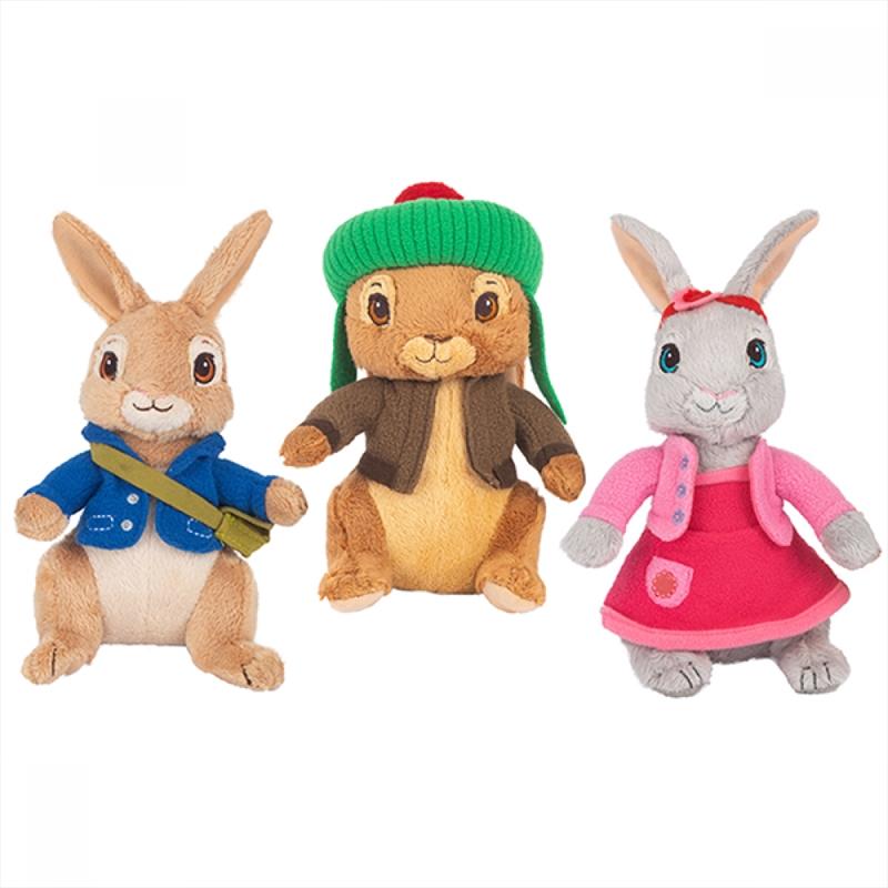 Peter Rabbit  Assorted Plush 22cm - (ONE PLUSH SENT AT RANDOM) | Toy